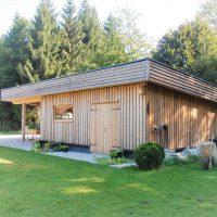 Holzhütte Straßwalchen Holzbau