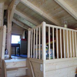 Holzhütte Seehütte Innenausbau Zimmerer