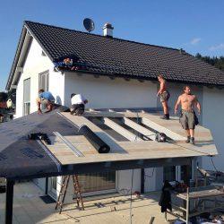 terrassenüberdachung Holz Glas 2 - Kopie
